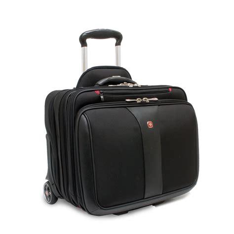 buy wenger swiss gear patriot wheeled laptop in black