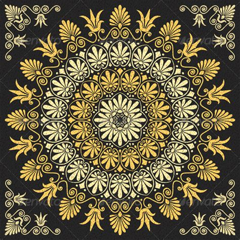 greek pattern svg vector floral gold greek ornament ornament patterns and