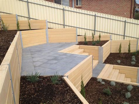 Cement Sleepers Adelaide by Brighton Concrete Sleepers Concrete Retaining Walls Adelaide