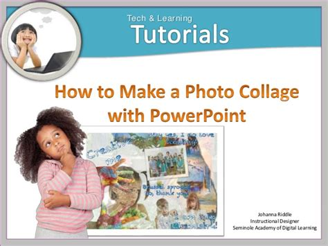 How To Make A Photo Collage With Powerpoint How To Make On Powerpoint