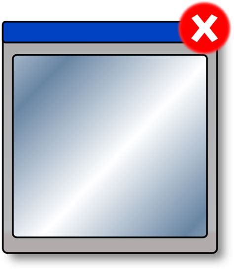 close window close window clip art at clker com vector clip art