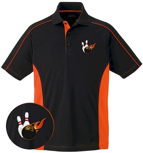 design a bowling shirt embroidered bowling polo shirt bowling shirts polo