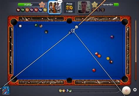 Meja Billiard Koin 8 pool garis panjang di android dan windows tekno gadget