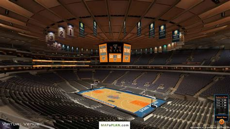 section 214 msg madison square garden seating chart detailed seat