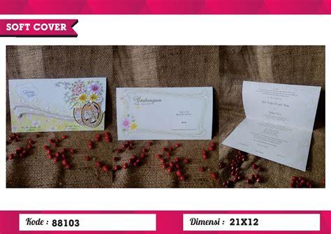 Undangan Pernikahan Murah 88103 undangan soft cover erba 88103 erba soft cover