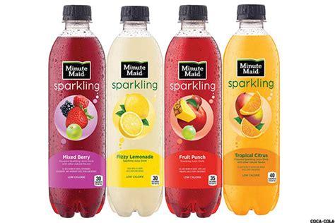 fruit 20 sparkling water pepsico pep coca cola ko declare war in brand