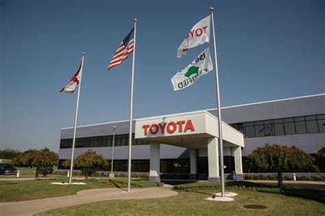 toyota rav4 manufacturing plant toyota assembly plant in alabama reaches production milestone