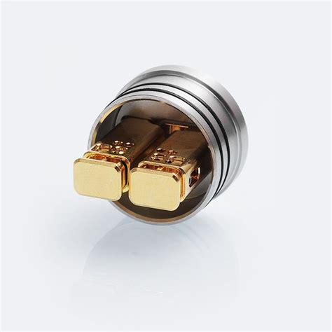Tigertek Springer X 24 Rda Atomizer Gold Clone Vp02550 authentic tigertek springer x rda silver ss 24mm atomizer