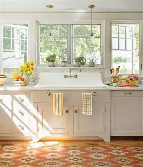 country kitchen sink ideas 20 vintage farmhouse kitchen ideas home design and interior