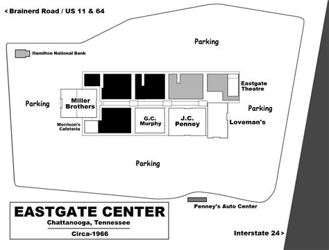layout of eastgate mall mall hall of fame march 2008