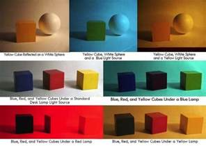different color lights how do different colored lights affect the colors of