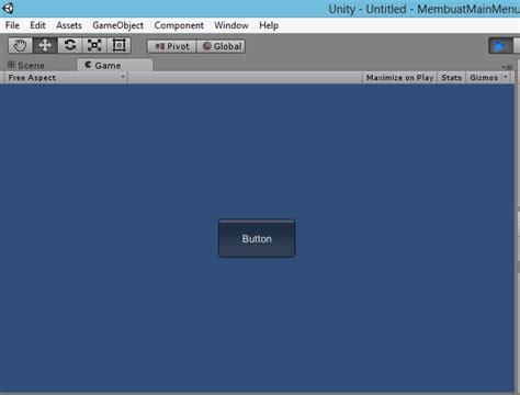 unity ongui tutorial augmented reality tutorial 2015 membuat main menu pada