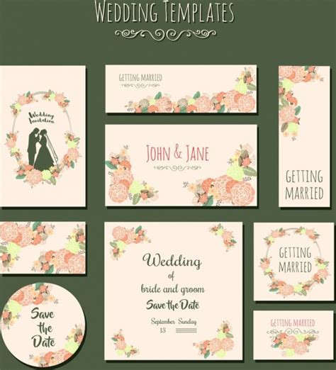 marriage wedding card images free vector for free about 221 036 free vector