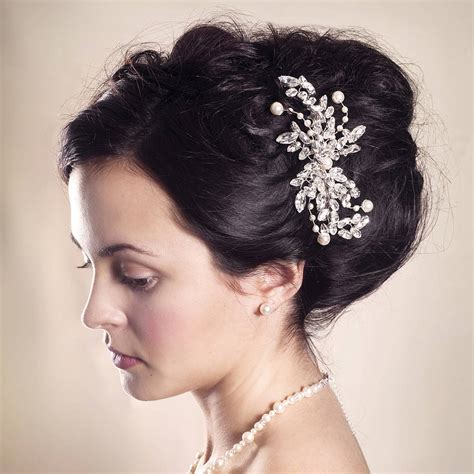 handmade eloise wedding comb by rosie willett designs