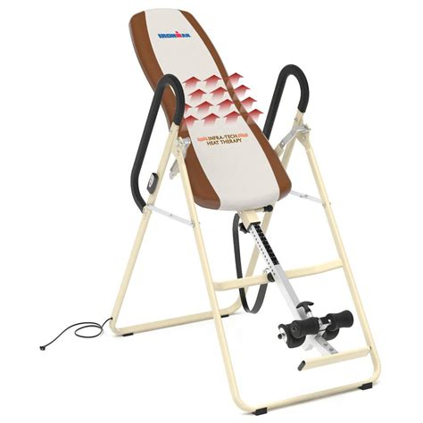 ironman infrared inversion table reviews ironman 174 infrared therapy ift1000 inversion table 184817