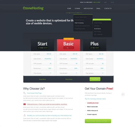 jquery html template exle 33 jquery html5 website themes templates free