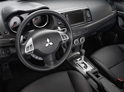 mitsubishi lancer sportback interior 2010 mitsubishi lancer sportback price photos reviews