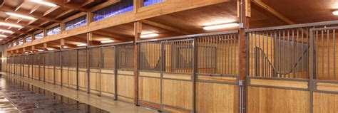 big   horse stall  equestrian barns