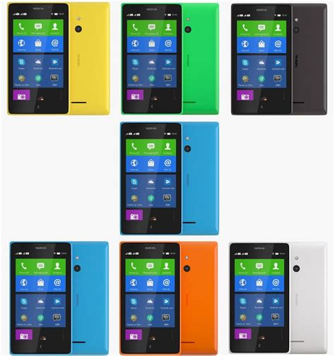Touchscreen Nokia Xl Rm1030 Ori nokia xl color 3d dxf