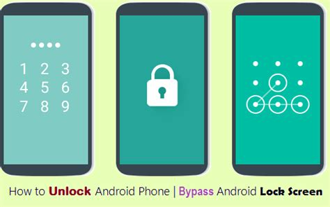 how to change lock screen android how to unlock android phone bypass android lock screen gizmobase