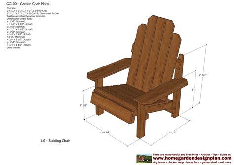 home garden plans gc garden chair plans  door