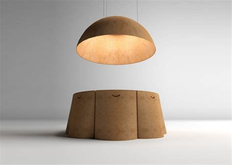 All Natural: The Ayers Cork Furniture and Lighting Set