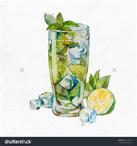 watercolor cocktail 17 best images about illustration food drinks on