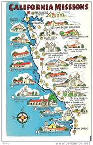 mission california map 15 best pueblos missions and presidios on the el