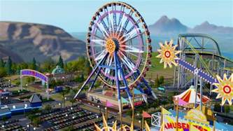 Theme Park Simcity Dlc Amusement Park Pc Cdon