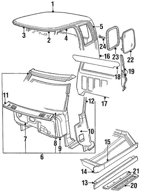 auto body repair training 1993 dodge d250 electronic toll collection exterior trim cab for 1991 dodge d250 dodge parts online