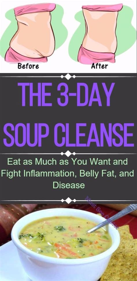3 Day Cabbage Soup Detox Diet by Best 25 Soup Cleanse Ideas On Cabbage Diet