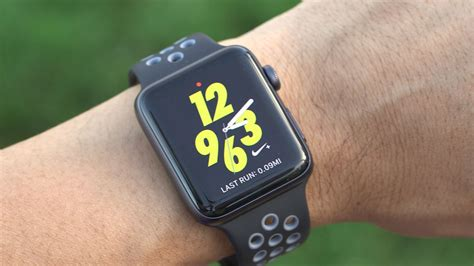 Istomp Nike Sports Band For Apple 42mm Black apple nike versus the series 2 what s really