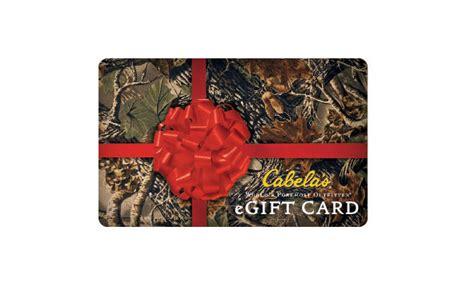 Cabelas E Gift Card - e gift card