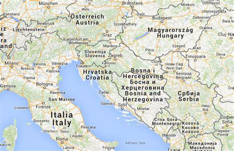 donde se localiza croacia mapa de croacia donde est 225 queda pa 237 s encuentra