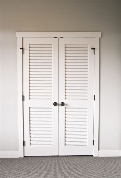 Shutter Closet Doors Best 25 Louvered Door Ideas Ideas On Pinterest