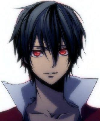 anime boy red eyes red eyed raventte anime boy on we heart it
