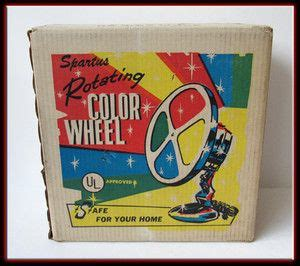 rotating color wheel for tree vintage working spartus rotating color wheel for aluminum