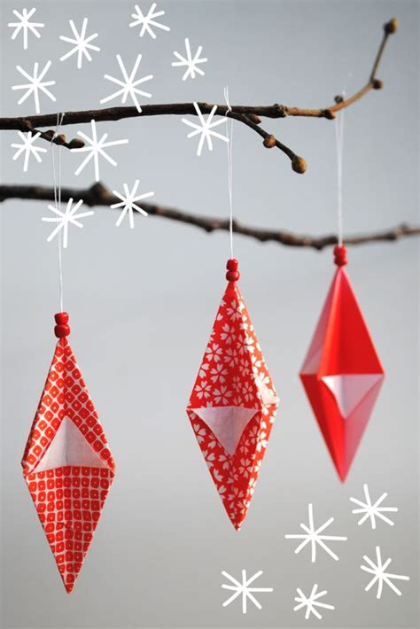 Origami Tree Decorations - 30 and creative diy origami
