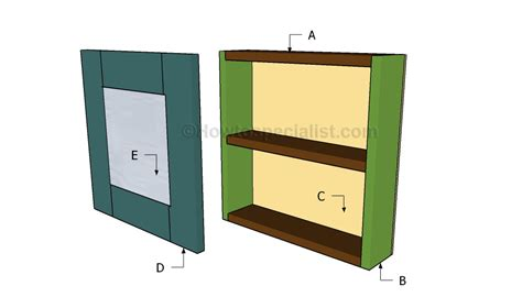 building an armoire jewelry armoire plans howtospecialist how to build