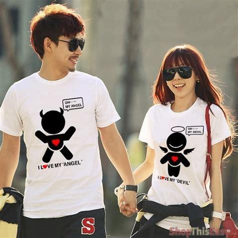 Pair Shirts Couples And Print Shirt Pair Gobuy Ph