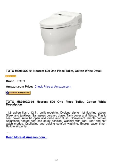 anoboy one piece 500 toto ms950 cg 01 neorest 500 one piece toilet cotton white
