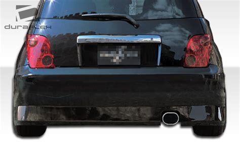 scion xa rear bumper rear bumper kit for 2005 scion xa scion xa duraflex