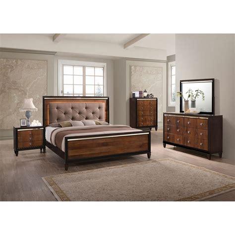 classic home bedroom groups  piece clarice queen bedroom collection