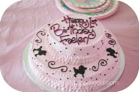 Ooh La La: Pink French Poodles, Paris, Eiffel Tower, and Cake!   To the Motherhood   Indiana