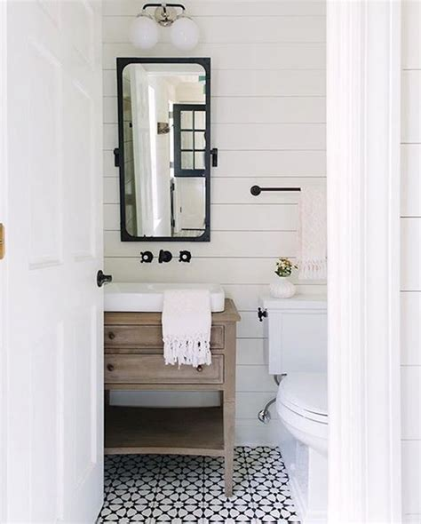 Shiplap In Small Bathroom 10 Ways To Use The Shiplap Lookbecki Owens