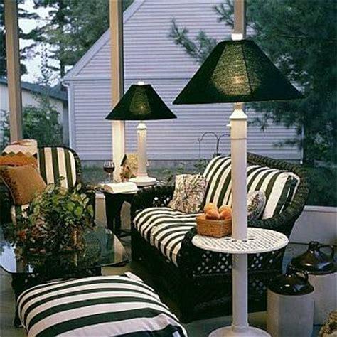 outdoor patio lamp floor table waterproof