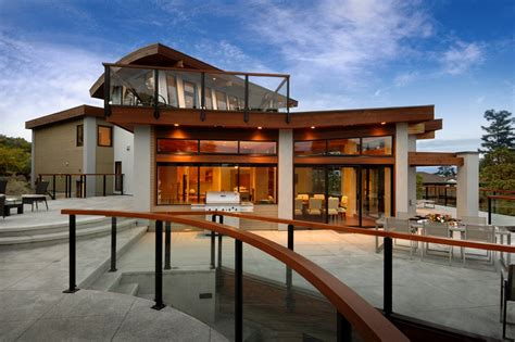 modern home design victoria bc terrace outdoor living dining modern home in victoria