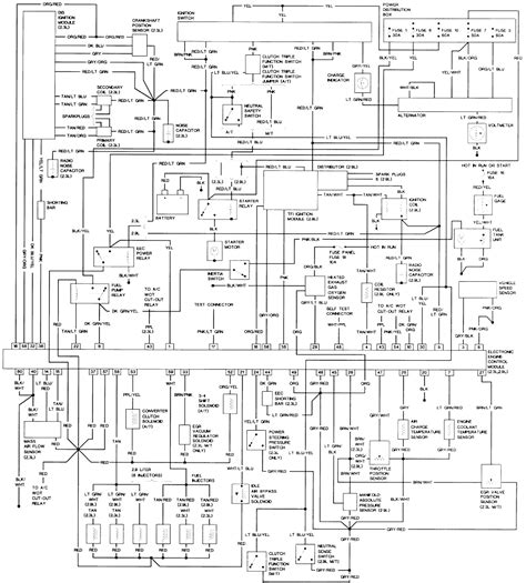 wiring diagram for 2006 ford ranger wiring wirning diagrams