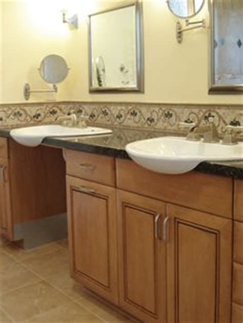 ada badezimmer vanity 1000 images about bathroom remodel for accessibility on