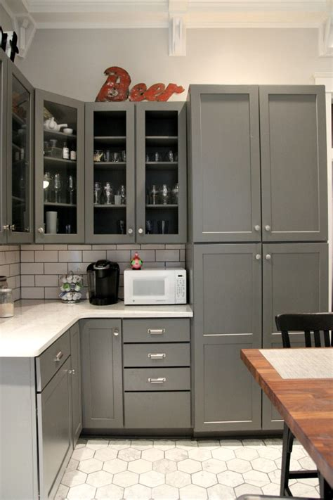Grey Kitchen Pantry House Tweaking